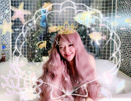 [旅遊]  莎多堡奇幻旅館 Sato Castle Motel ♥ 夢幻藍色海底世界美人魚公主Mermaid ♥ 網美們絕對不能錯過的城堡旅館 დ 台北浪漫約會景點推薦 ʕっ•ᴥ•ʔっ