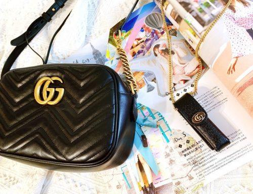 [開箱] Net-A-Porter ♥ 自己的Gucci包自己買 ♥ Gucci古馳隨身口紅包開箱 ♥ 不用飛歐洲也能隨時HOLD住時尚氣息 ➤ 國際網購名牌包│精品網購教學 ƪ(♥ﻬ♥)ʃ