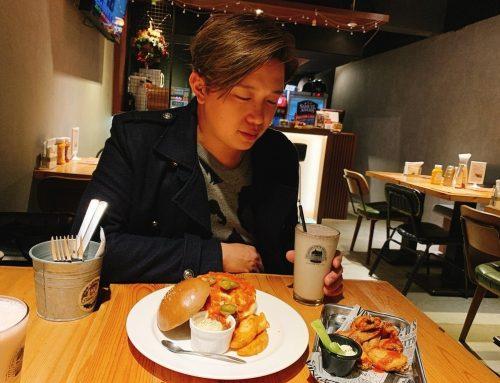 [美食] Stan & Cat 史丹貓美式餐廳 ♥ 炸雞 X 薯條 X 奶昔 台北東區美式料理吃好吃滿 ♥ 漢堡控絕對不能錯過的 浮誇系天阿好大牛肉堡 ♥ JUICY多汁起司牛肉漢堡 超高CP值台北美食推薦 ԅ(♡﹃♡ԅ)