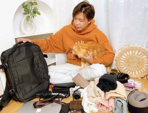 [開箱] Nazoroad ♥ Alter後背包 ! 時尚有型我有我的Style ♥ 大容量防潑水旅行後背包 X 多功能兩用旅行袋推薦 (ง •̀ω•́)ง