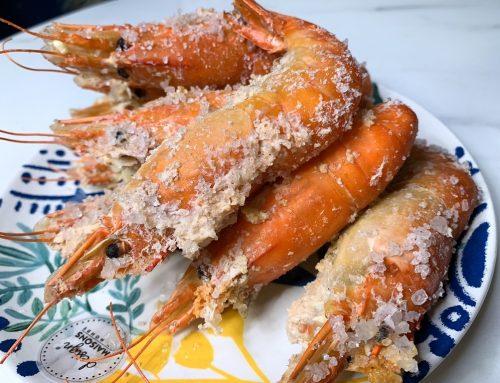 [美食] 段泰國蝦 Duan Thai Shrimp ♥ 懶人主婦簡易蝦料理  ♥ 檸檬玫瑰鹽焗蝦料理 ♥ 泰國蝦中之王鮮猛多汁非吃不可 ♥ A級老饕大蝦推薦   d(゚ー゚@)